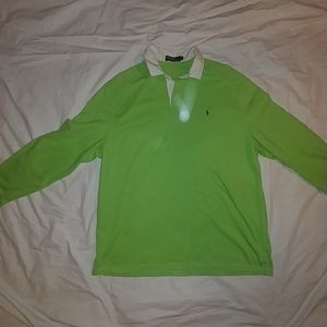 Polo Ralph Lauren lime green  Rugby